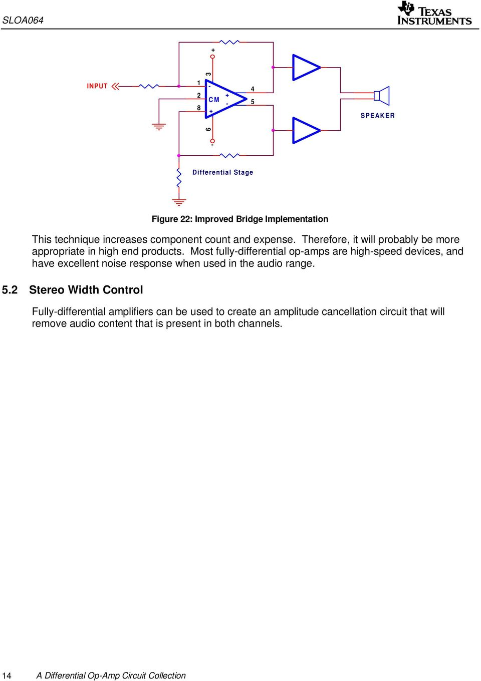 A Differential Op Amp Circuit Collection Pdf Representative Schematic Of Currentfeedback Opamp Or Amplifier Most Fullydifferential Opamps Are Highspeed Devices And Have Excellent Noise Response When Used In The