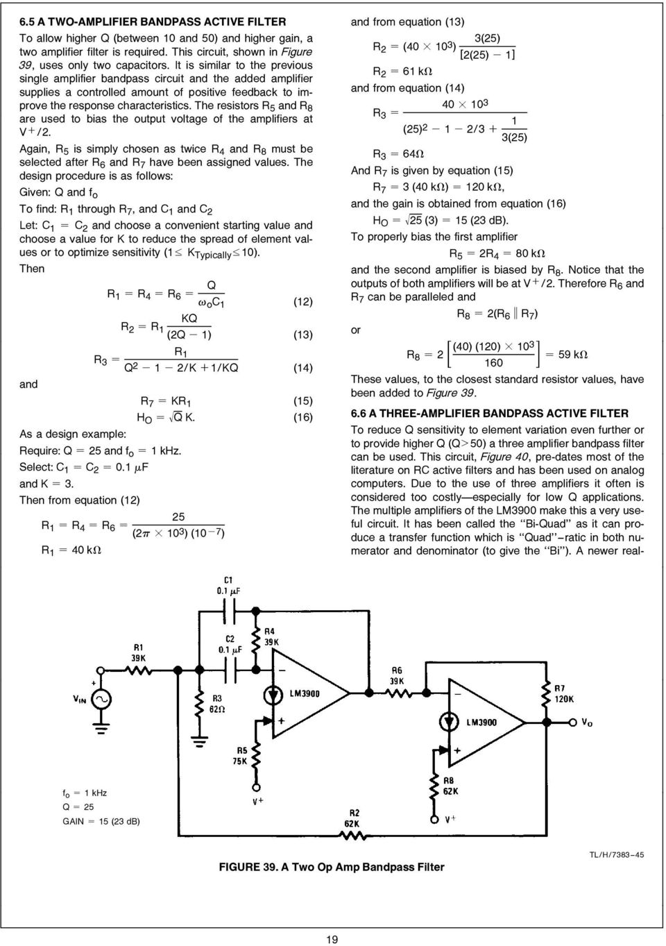 Lm3900 An 72 The A New Current Differencing Quad Of Plus Or Channel Audio Mixer Circuit Using Simple Schematic Diagram Are Used To Bias Output Voltage Amplifiers At V 2 Again R