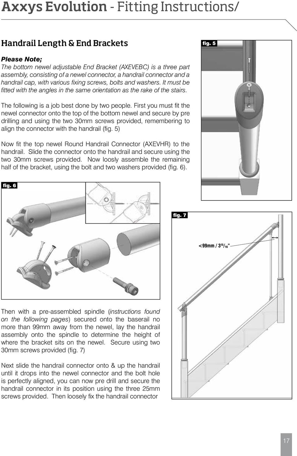 Axxys Fitting Instructions Technical Guide Pdf Stair Diagram House Of Forgings Part The Following Is A Job Best Done By Two People