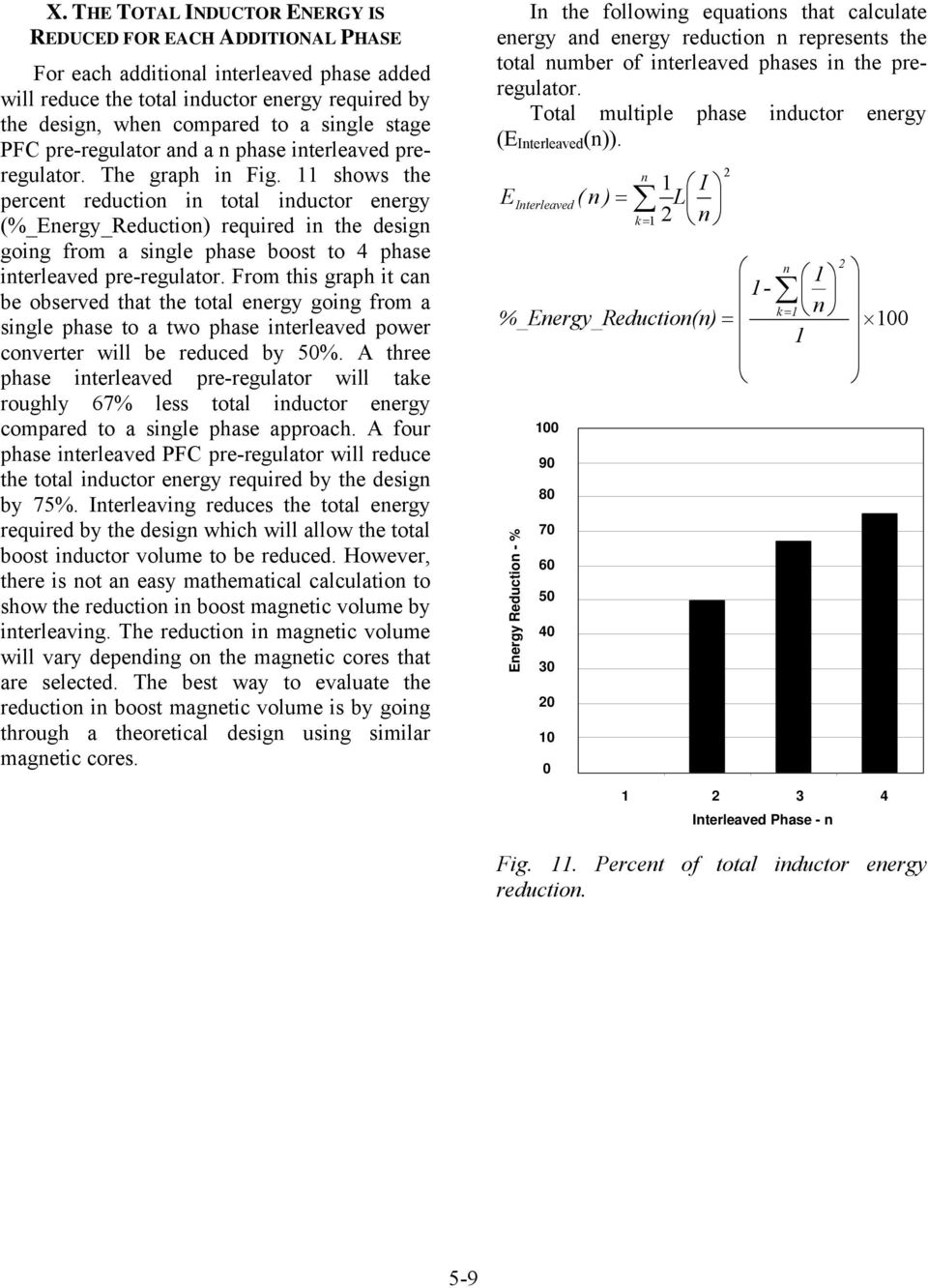 Topic 5 An Interleaved Pfc Preregulator For High Power Converters Pdf Converter Operation Frequency Ripple Reduction Shows The Percent In Total Inductor Energy Required Design
