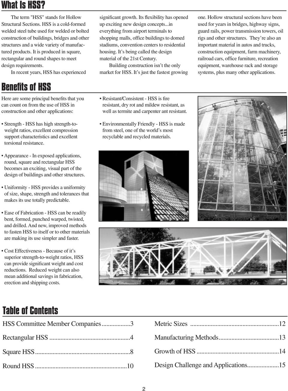 Hollow Structural Sections Pdf