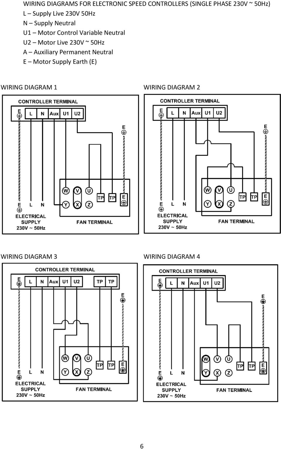 Reb 1 3 5 6 8 10 12 16 Pdf Ronk Rotoverter Wiring Diagram Installation U2 Motor Live 230v 50hz A Auxiliary Permanent Neutral E Supply