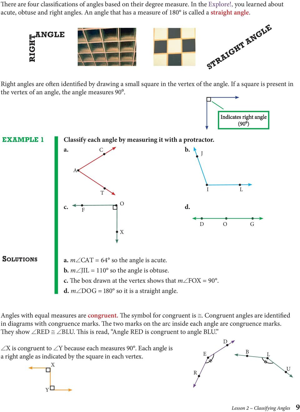 Block 1 Lines And Angles Pdf