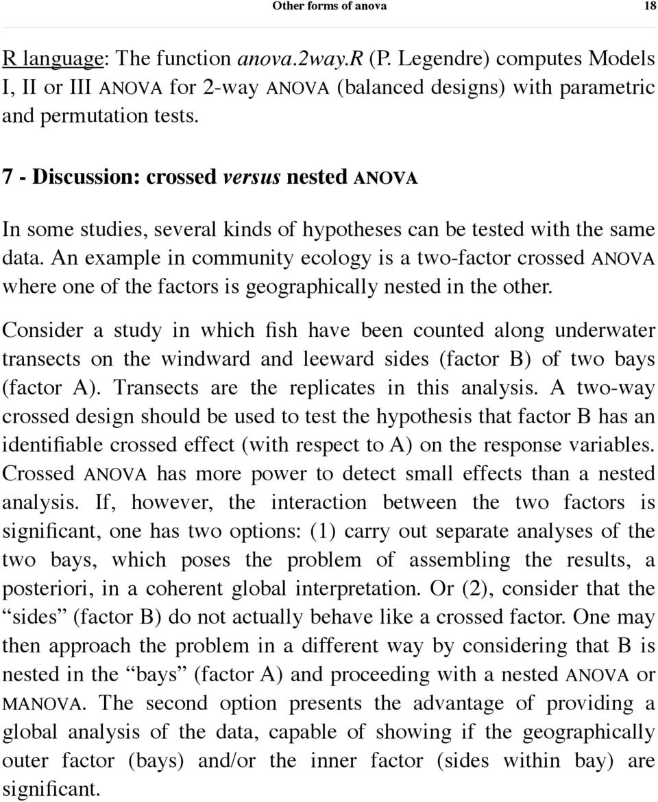 Other forms of ANOVA - PDF