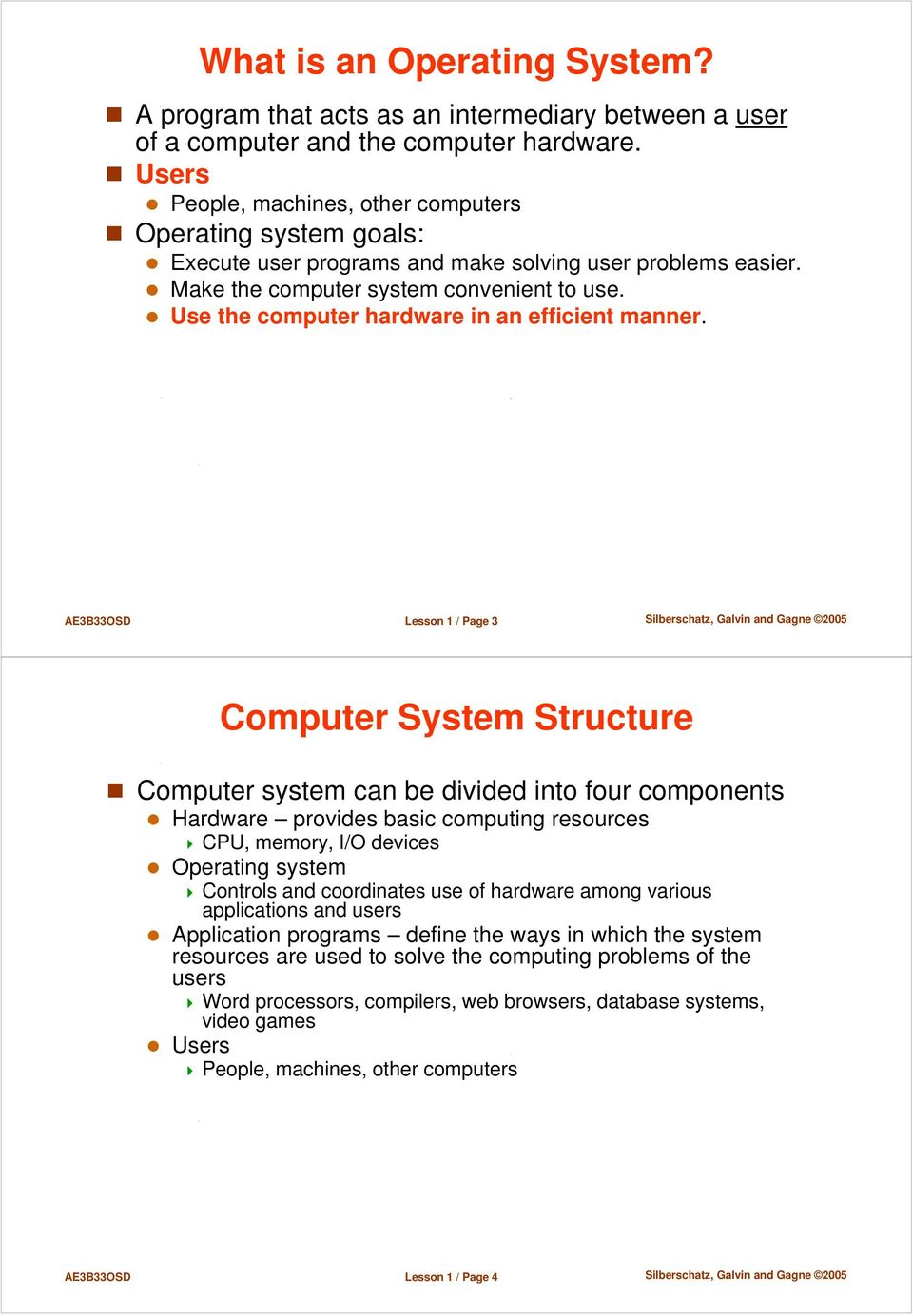 basic structure of computer system