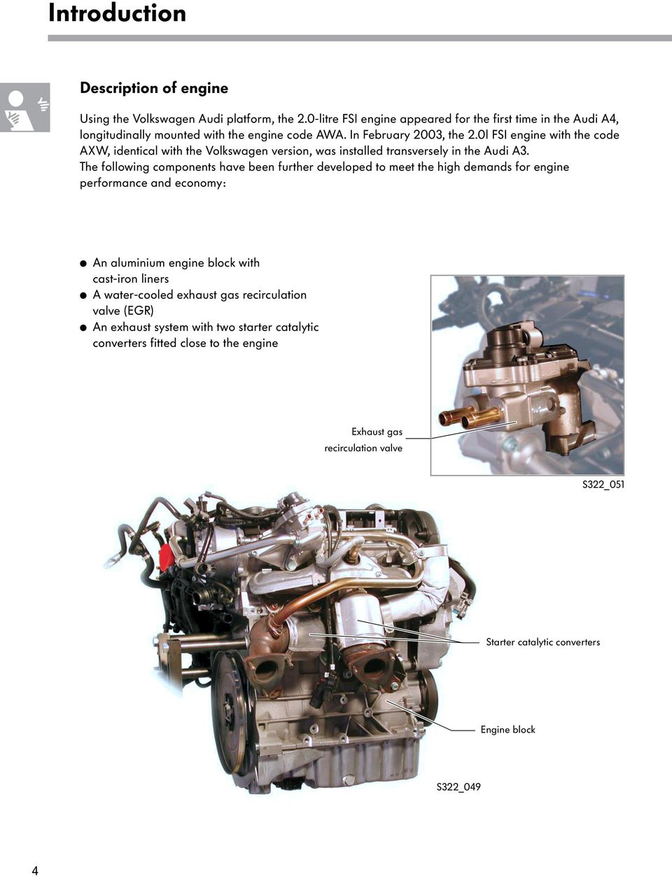 The 2 0l Fsi Engine With 4 Valve Technology Pdf Free Download