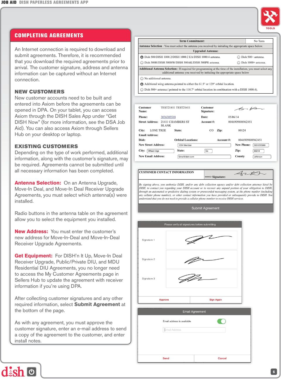 Dish Paperless Agreements App Pdf