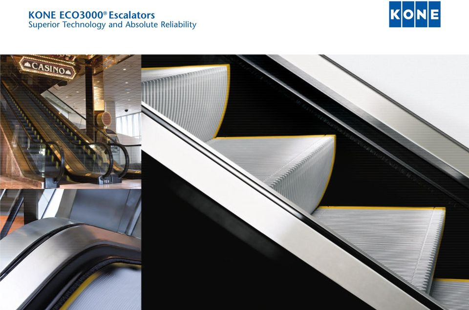KONE ECO3000 Escalators  Superior Technology and Absolute