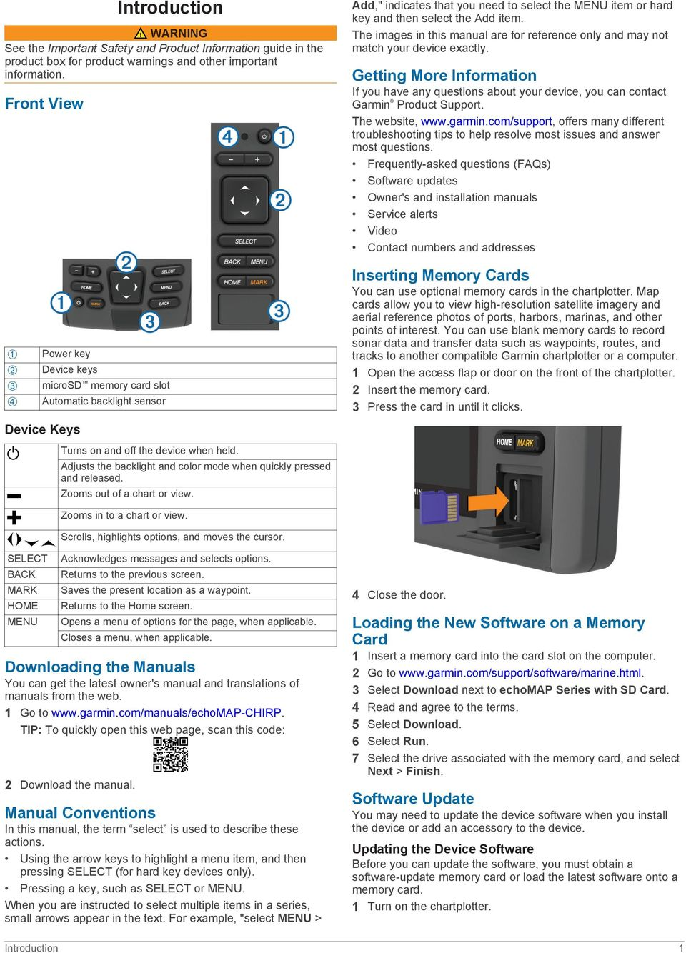 echomap CHIRP 40/50/70/90 Series Owner s Manual - PDF