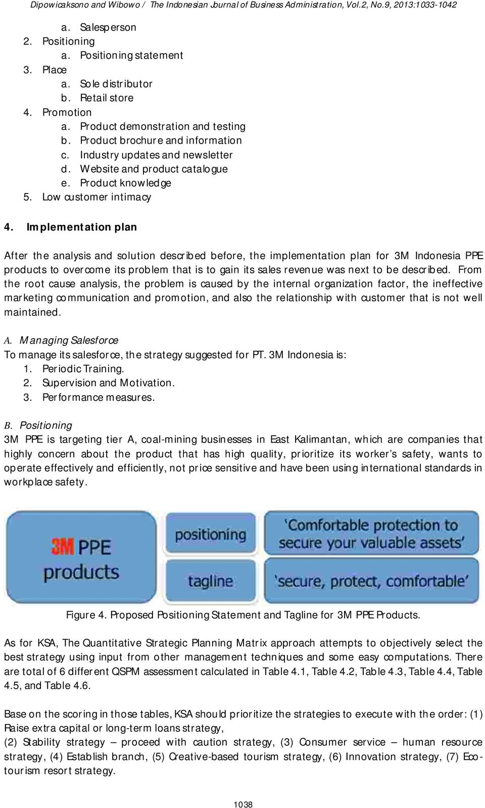 MARKETING STRATEGY FOR 3M PPE PRODUCTS AT COAL MINING IN