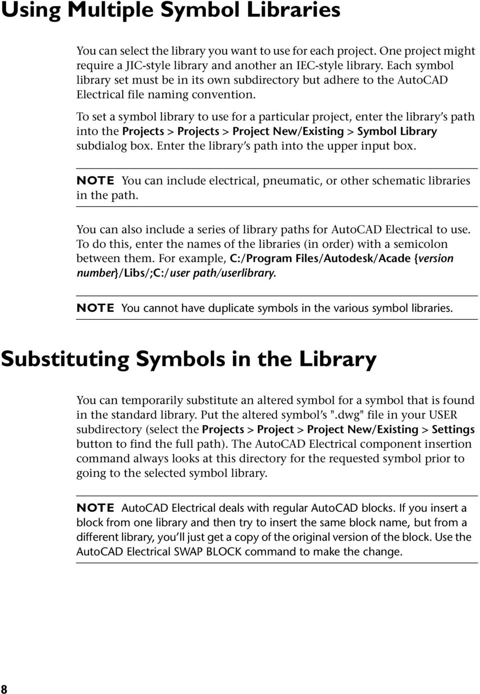 AutoCAD Electrical Symbol Libraries - PDF