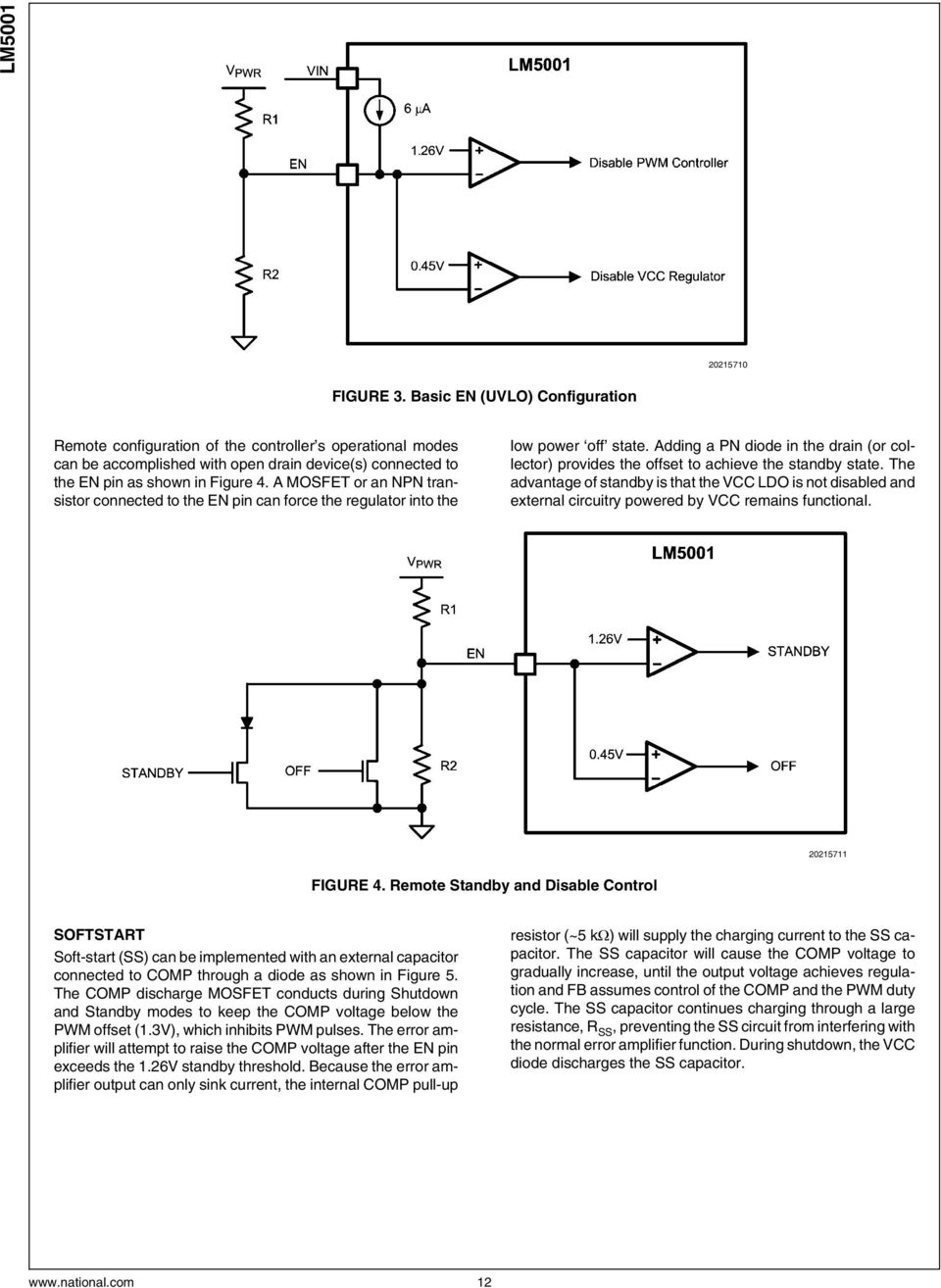 Lm5001 High Voltage Switch Mode Regulator Pdf With Shutdown Digital Wiring Diagram Schematic Adding A Pn Diode In The Drain Or Collector Provides Offset To Achieve