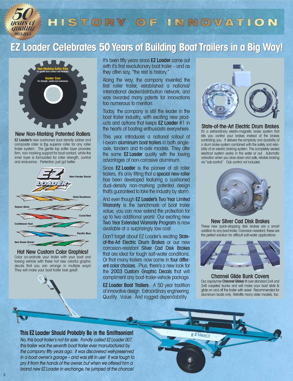 Ezloader Celebrating Our 50th Anniversary Of Manufacturing Boat Trailer Wiring Diagrams In Addition Century The Gentle Top Softer Layer Provides Firm Non Marking Support For Contact