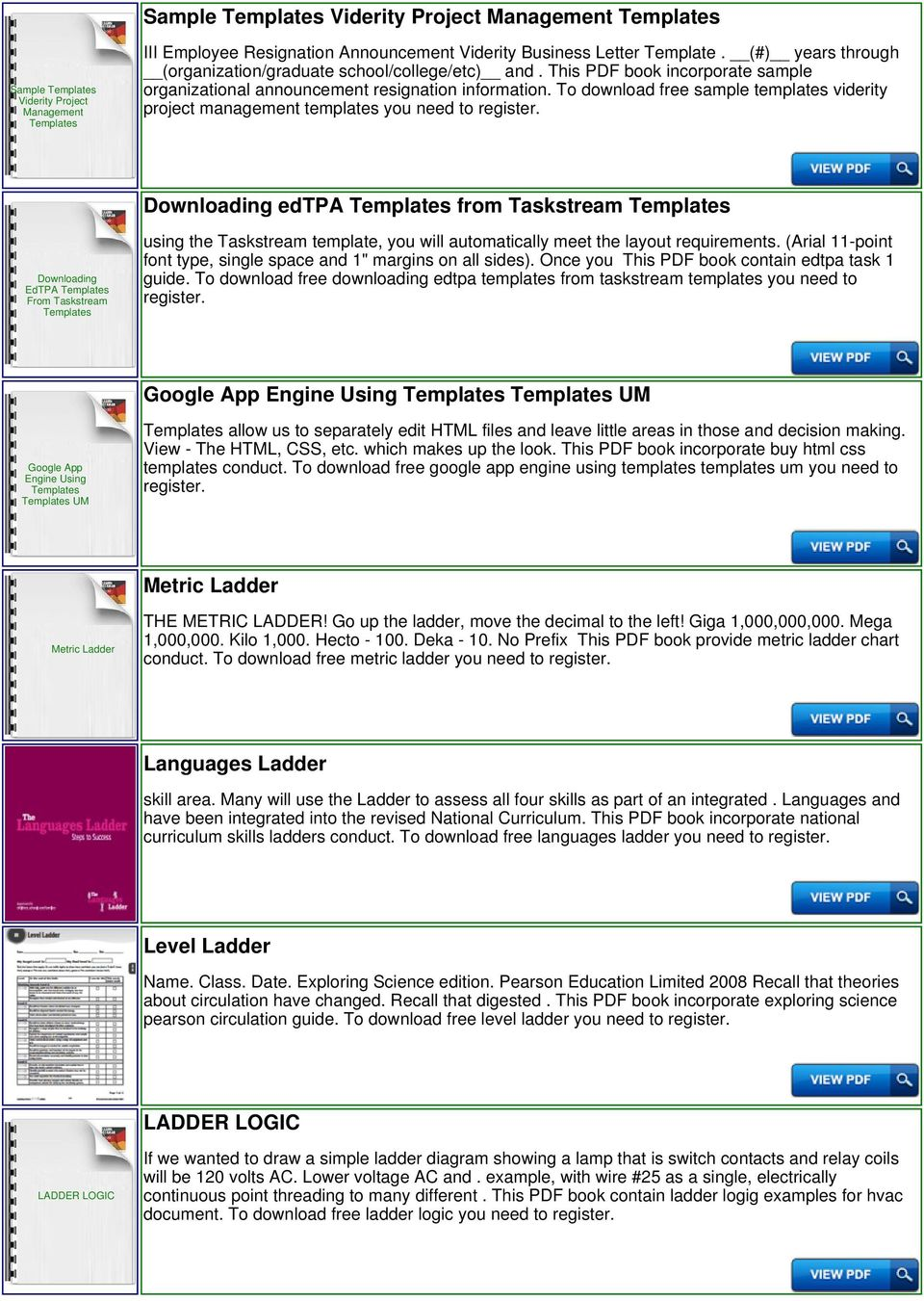 Ladder Permit Templates Pdf Electrical Diagrams Float Switches To Download Free Sample Viderity Project Management You Need Downloading Edtpa From