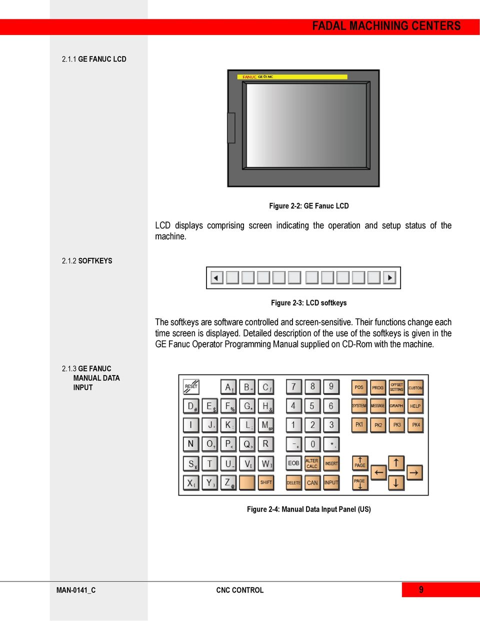 GE FANUC 0i MC OPERATOR S MANUAL - PDF