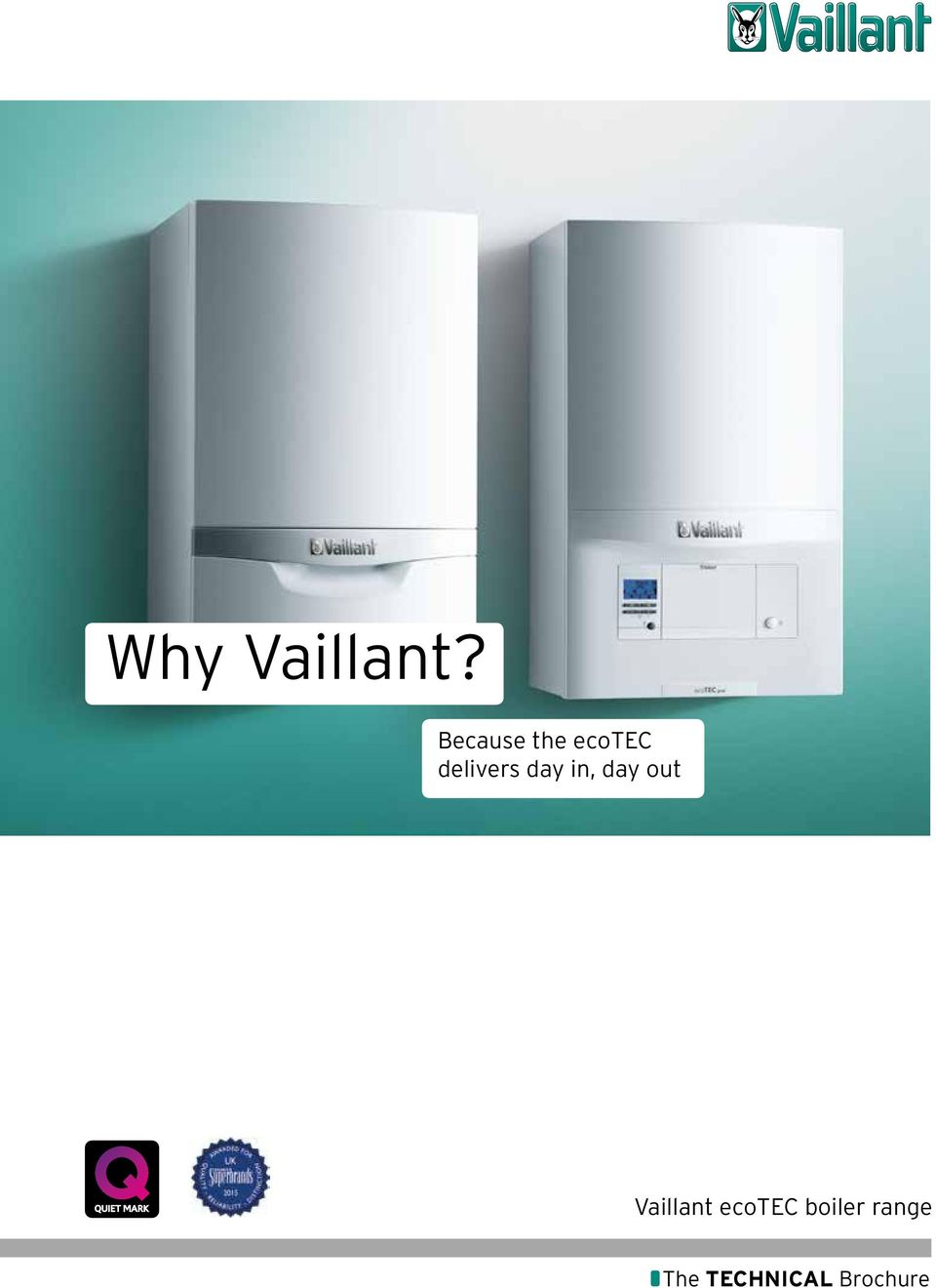 Why Vaillant Because The Ecotec Delivers Day In Out System Boiler Wiring Diagram