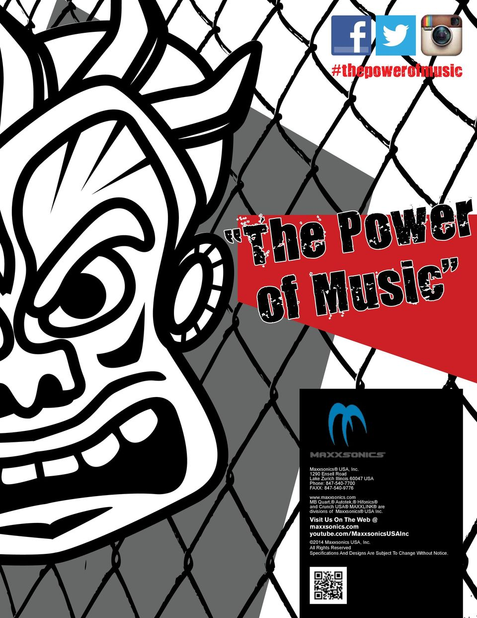 The Power Of Music Table Contents Crunchusanet V Drive Autotek 1 Ohm Wiring Diagram Maxxsonics