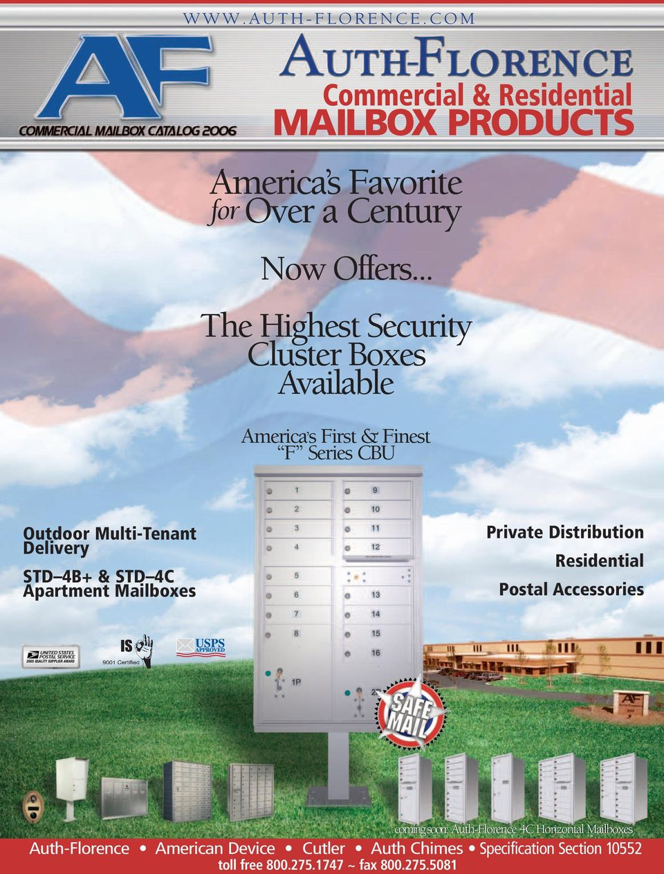 America s First & Finest F Series CBU  Auth-Florence