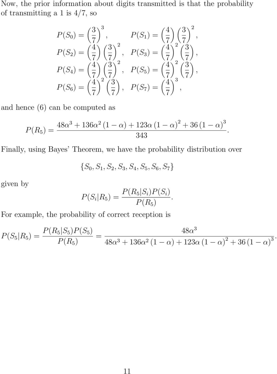 WORKED EXAMPLES 1 TOTAL PROBABILITY AND BAYES THEOREM - PDF