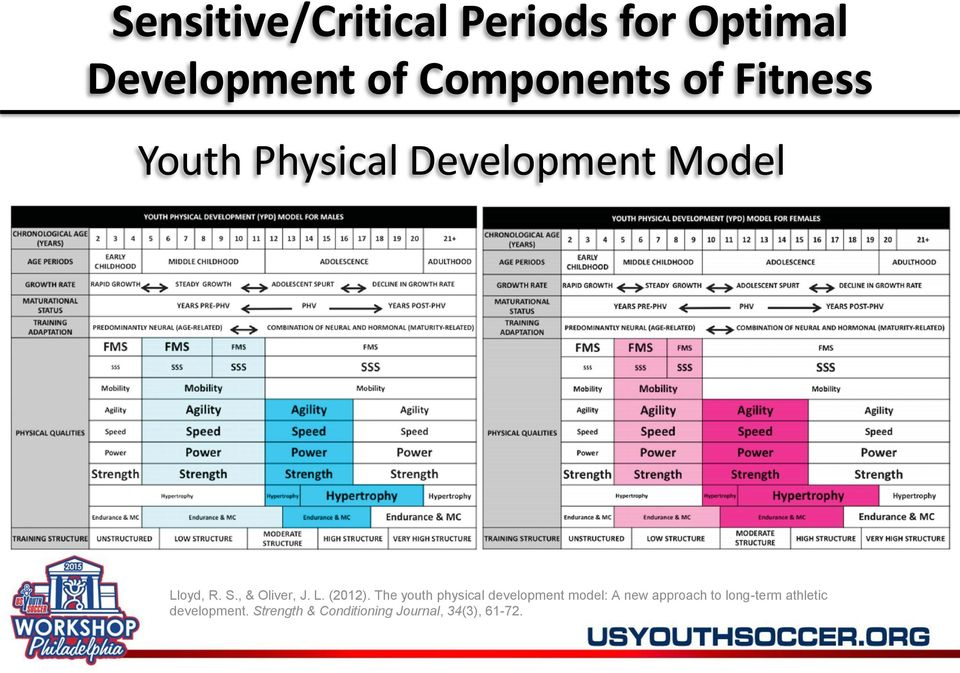 The youth physical development model: A new approach to long-term