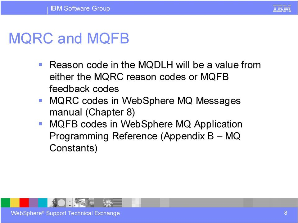 Ibm mqseries manuals array how to automate handling of websphere mq dead letter messages pdf rh docplayer net messages manual chapter 8 mqfb codes fandeluxe Images