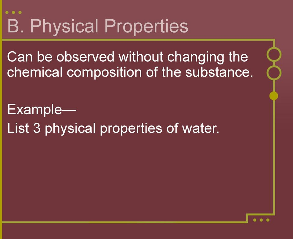 chemical composition of the
