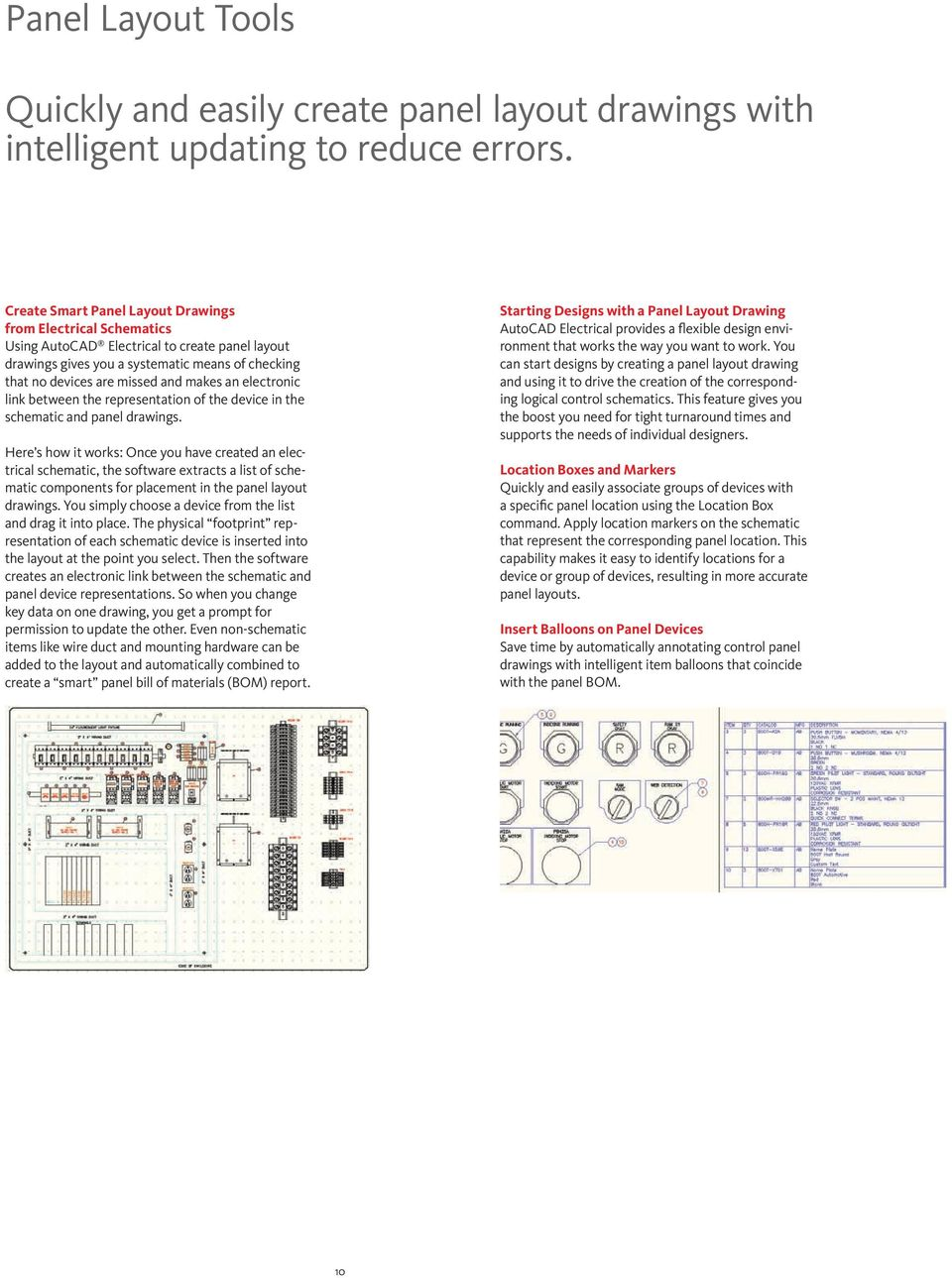 Get Wired Autocad Electrical Pdf Hvac Drawing Mep 2008 Electronic Link Between The Representation Of Device In Schematic And Panel Drawings