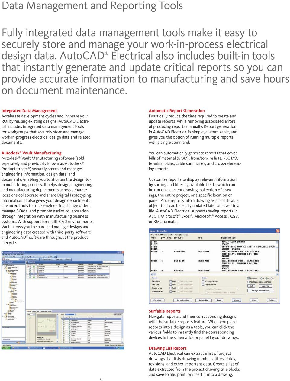 Get wired  AutoCAD  Electrical - PDF