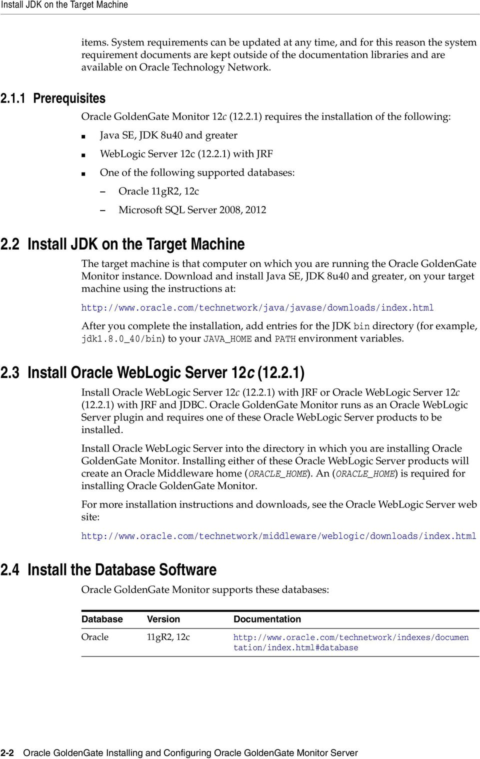 Installing and Configuring Oracle GoldenGate Monitor 12c