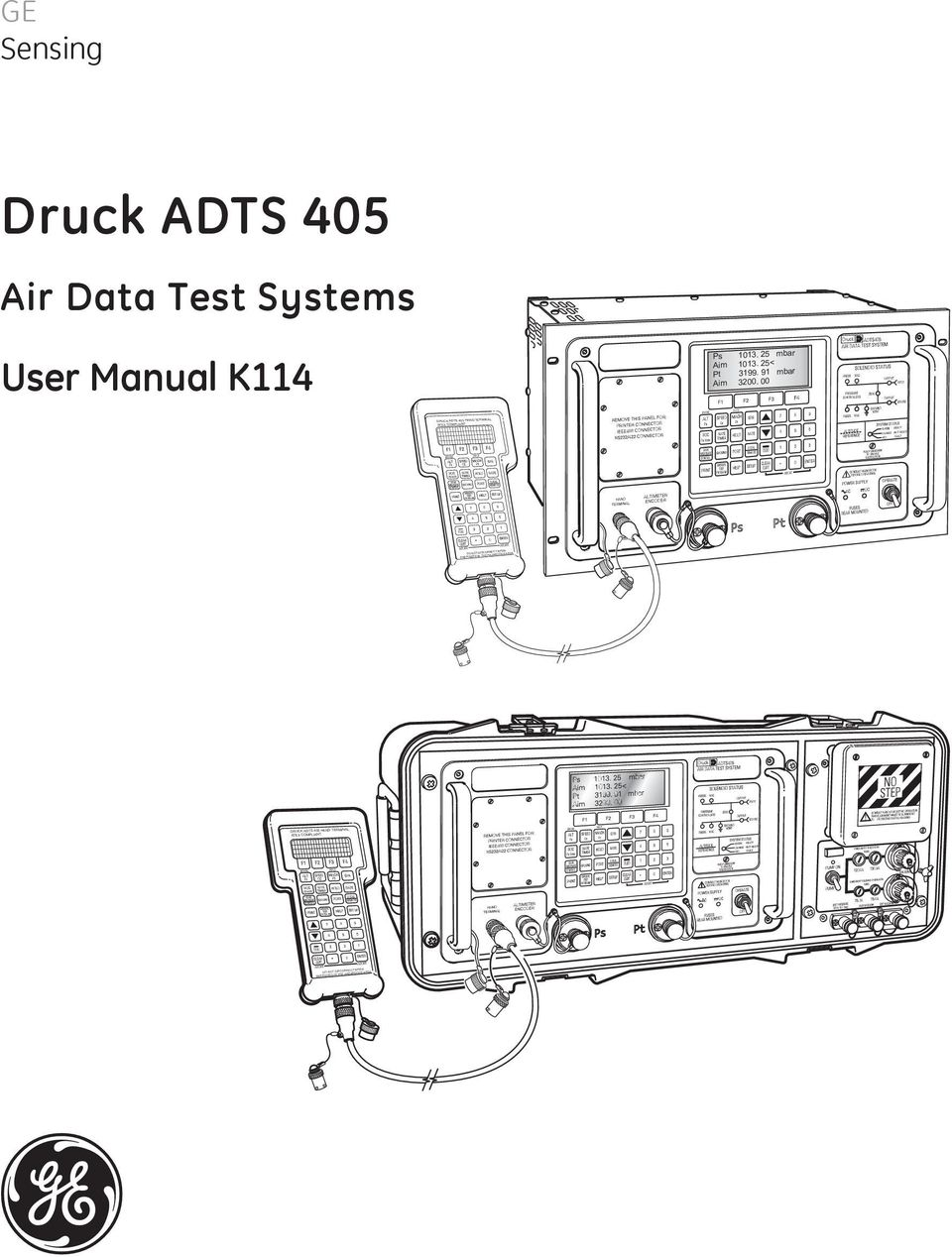 00 DRUCK ADTS 405 HAND TERMINAL ATEX COMPLIANT DO NOT DISCONNECT WHEN  ENERGIZED