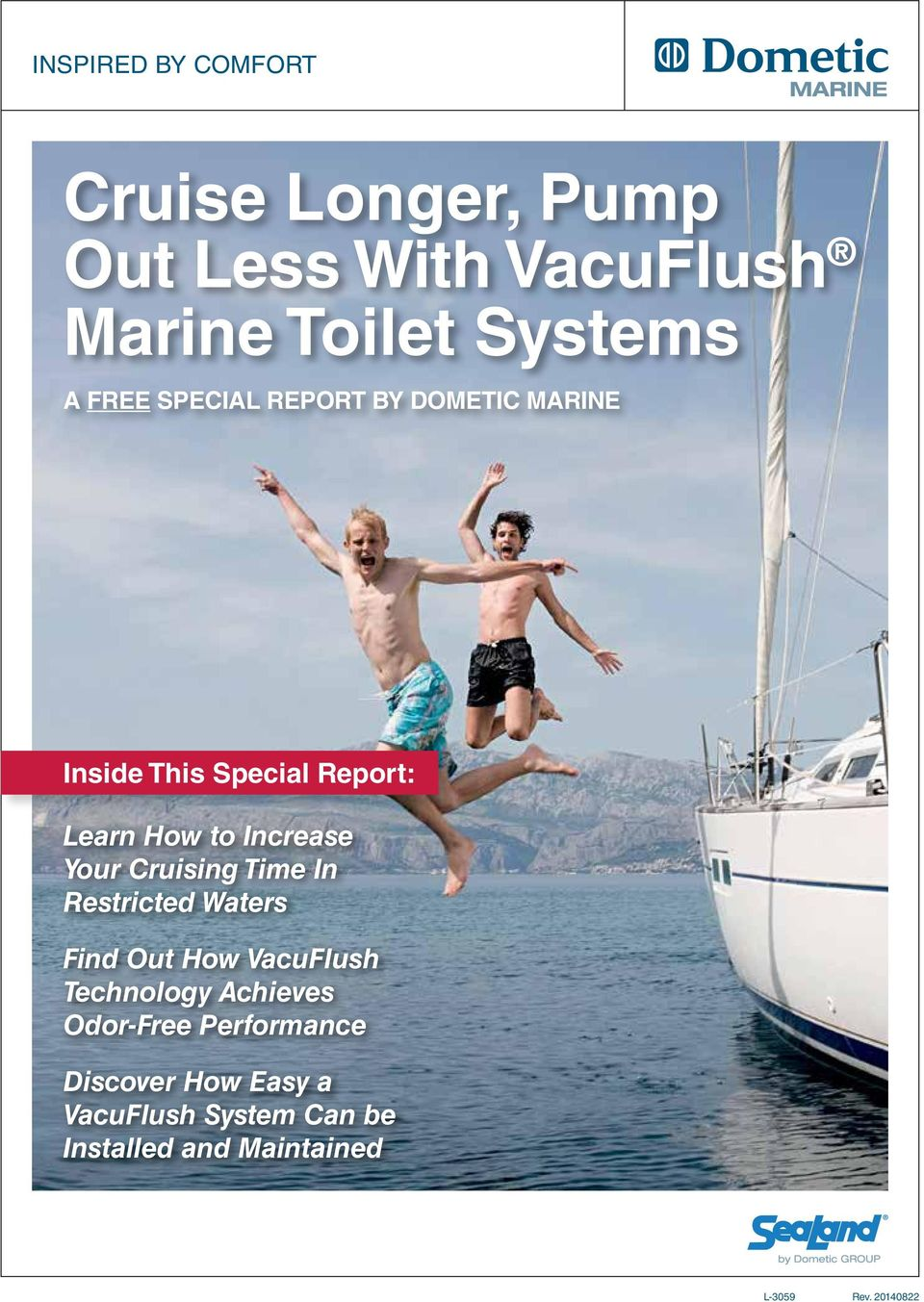Cruise Longer Pump Out Less With Vacuflush Marine Toilet Systems Pdf Premium Touch Control Panel Thetford Cruising Time In Restricted Waters Find How Technology Achieves Odor Free