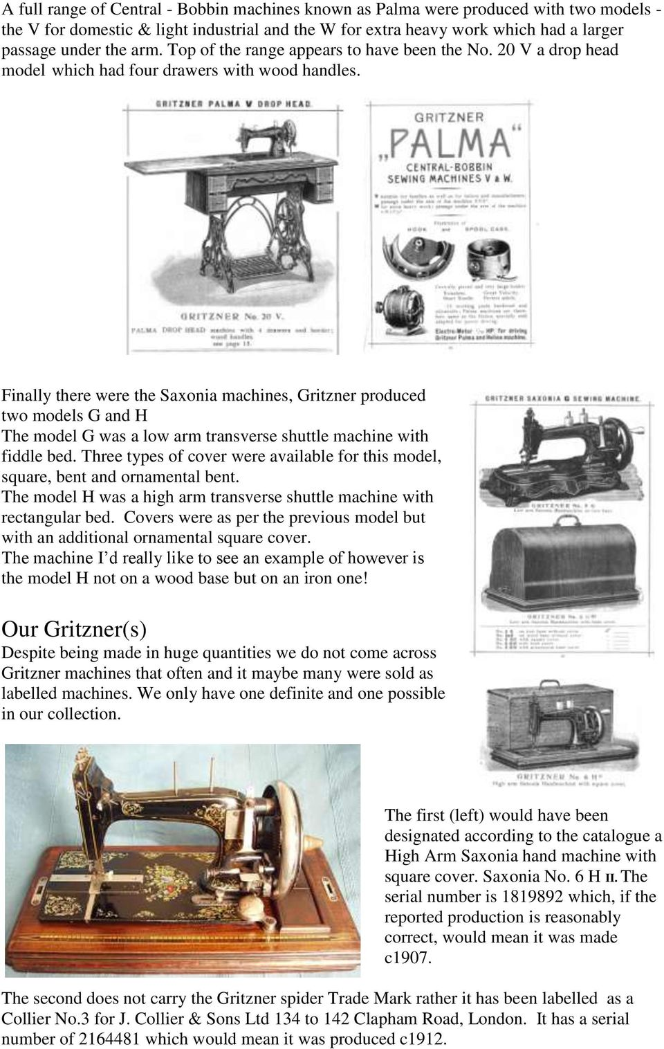 The Gritzner Machine Co Ltd Pdf