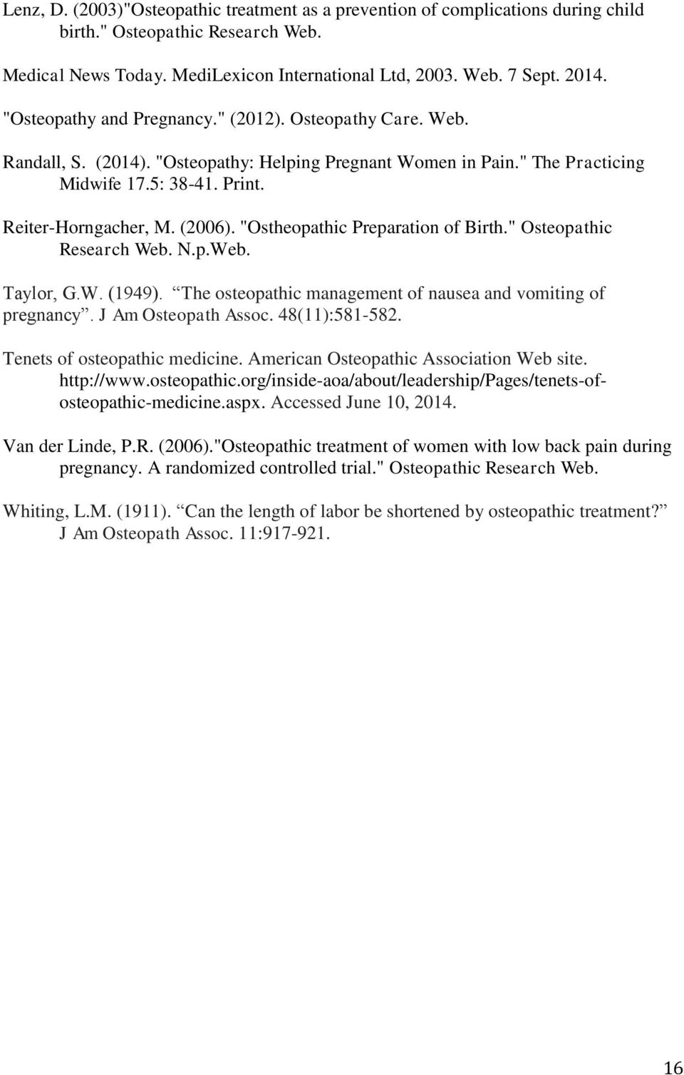 Osteopractic after childbirth: the rapid recovery of a young mother 22