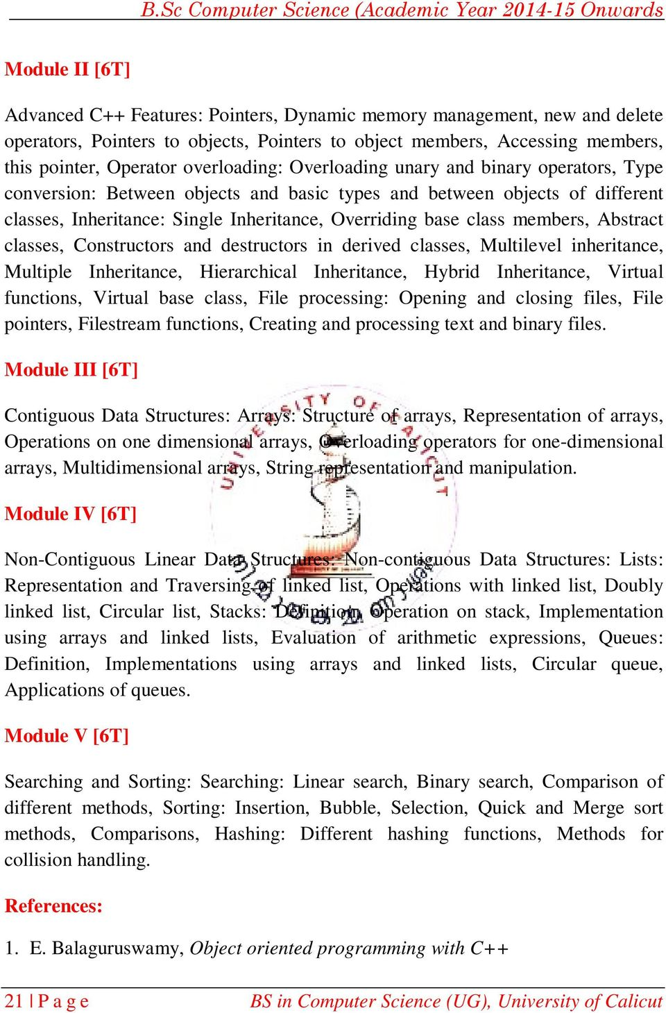 BCS2B02: OOP Concepts and Data Structures Using C++ - PDF