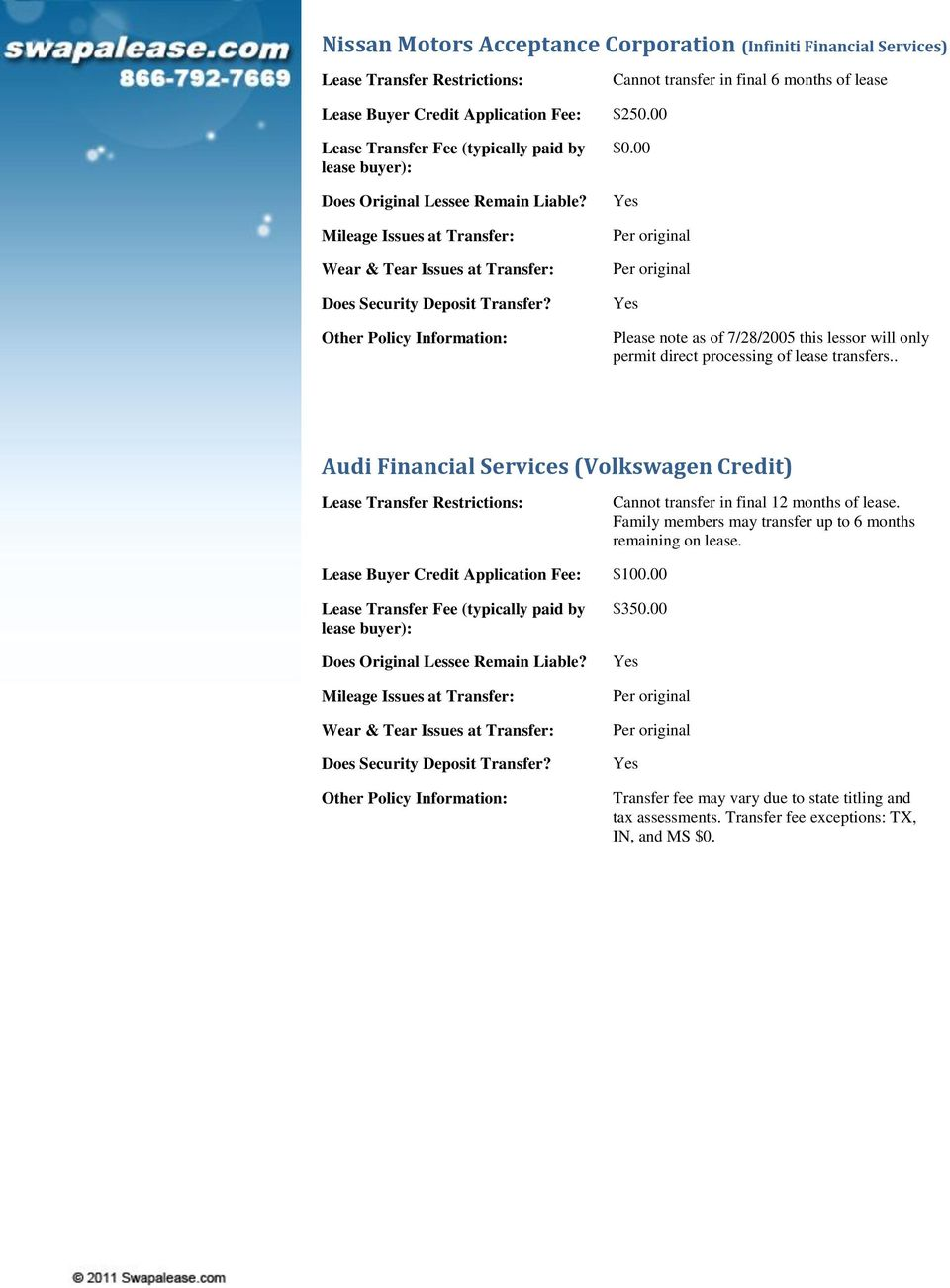 Audi Financial Services Phone Number >> Lease Company Information Bmw Financial Services Pdf