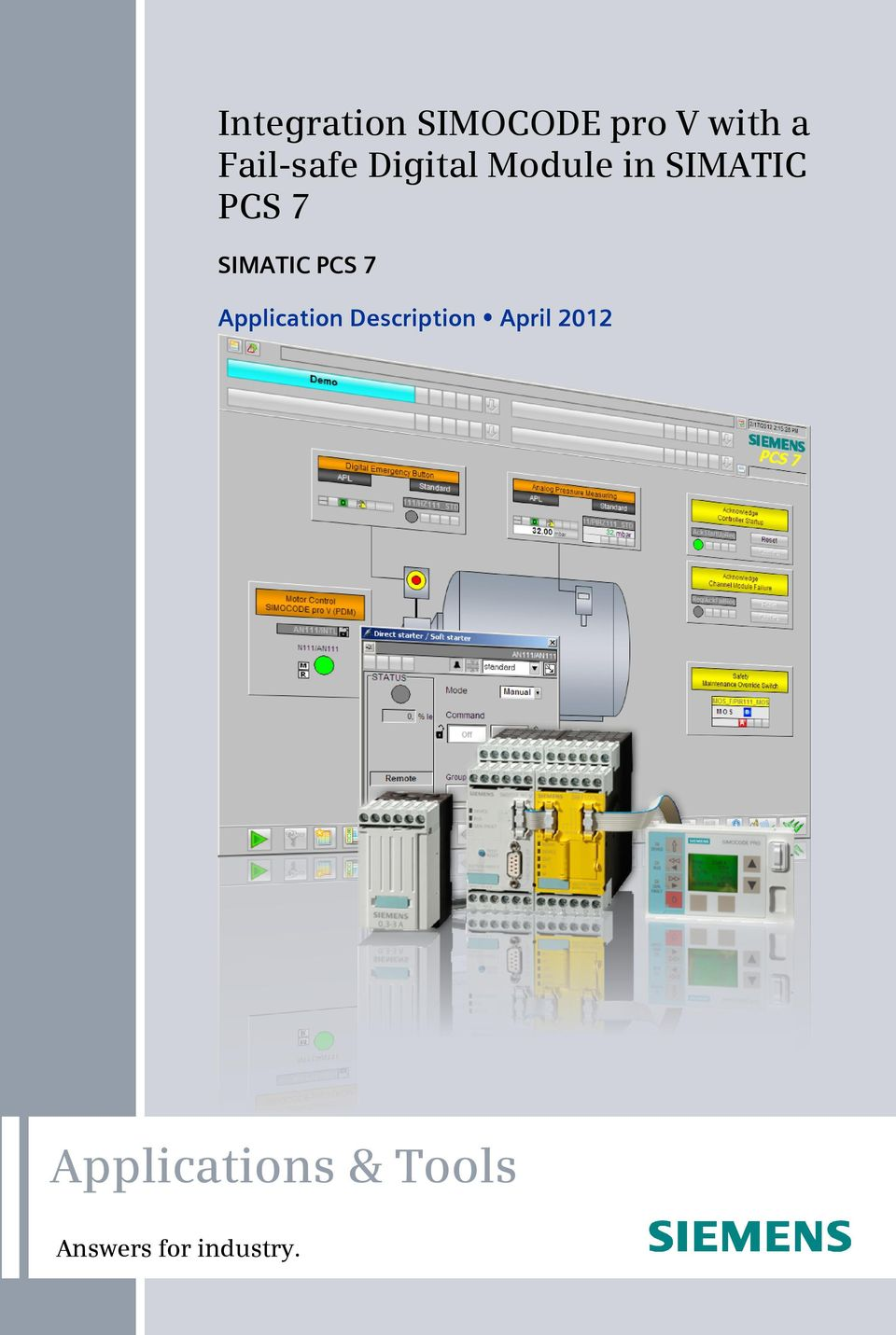 SIMATIC PCS 7 Application Description April