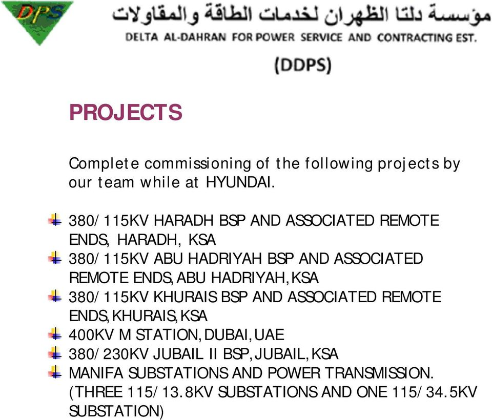 SERVICES  Pre commissioning Tests on - PDF