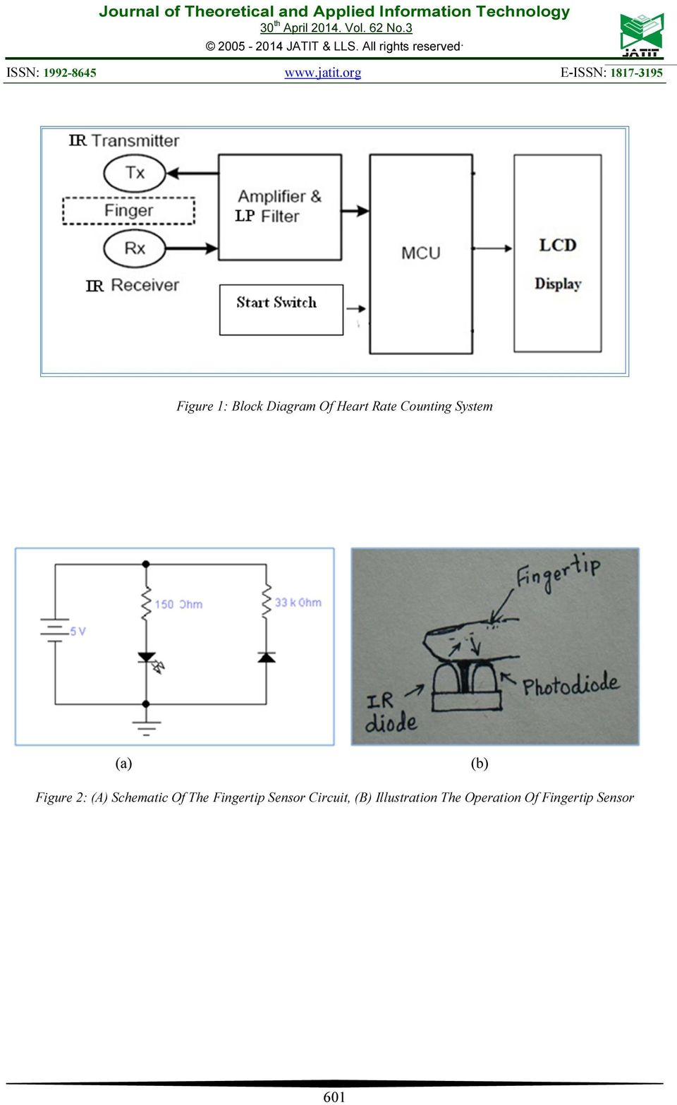 A Microcontroller Based Automatic Heart Rate Counting System From Ac Fan Speed Control Using Android Mobile Microtronics Technologies Schematic Of The Fingertip Sensor Circuit