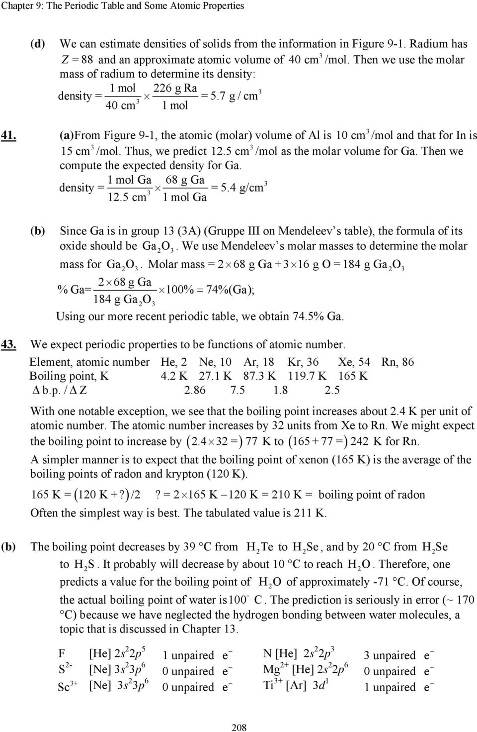 Chapter 9 The Periodic Table And Some Atomic Properties Pdf