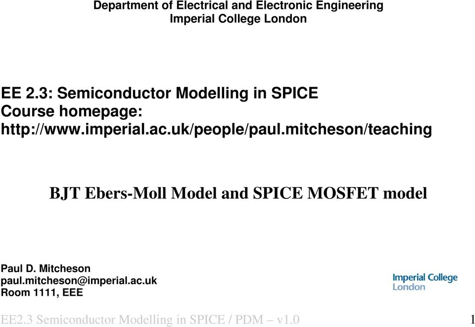 Semiconductor Device Modeling with Spice book pdf