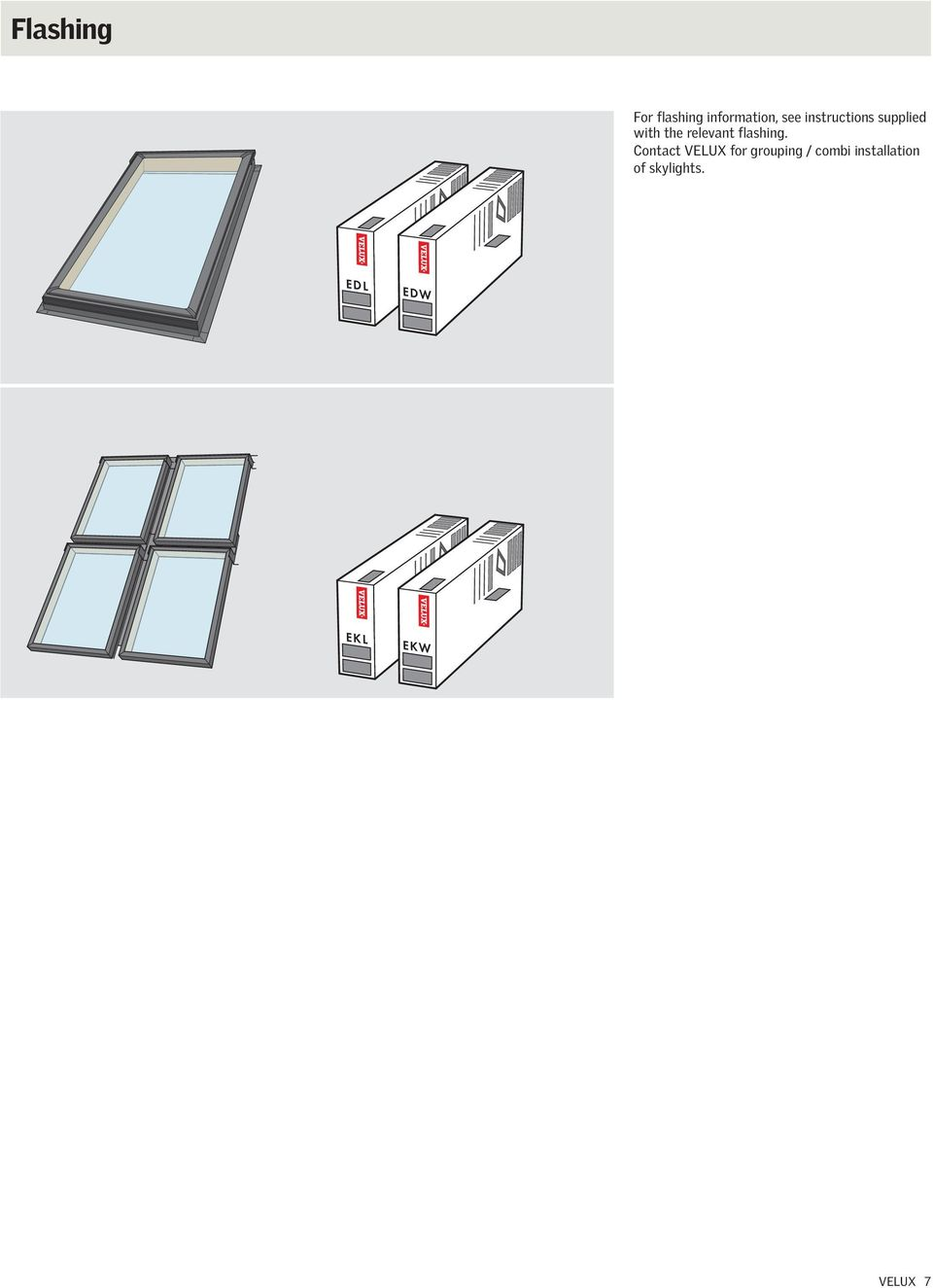 Fs Deck Mounted Skylight Installation Instructions Pdf Velux Wiring Diagram Flashing