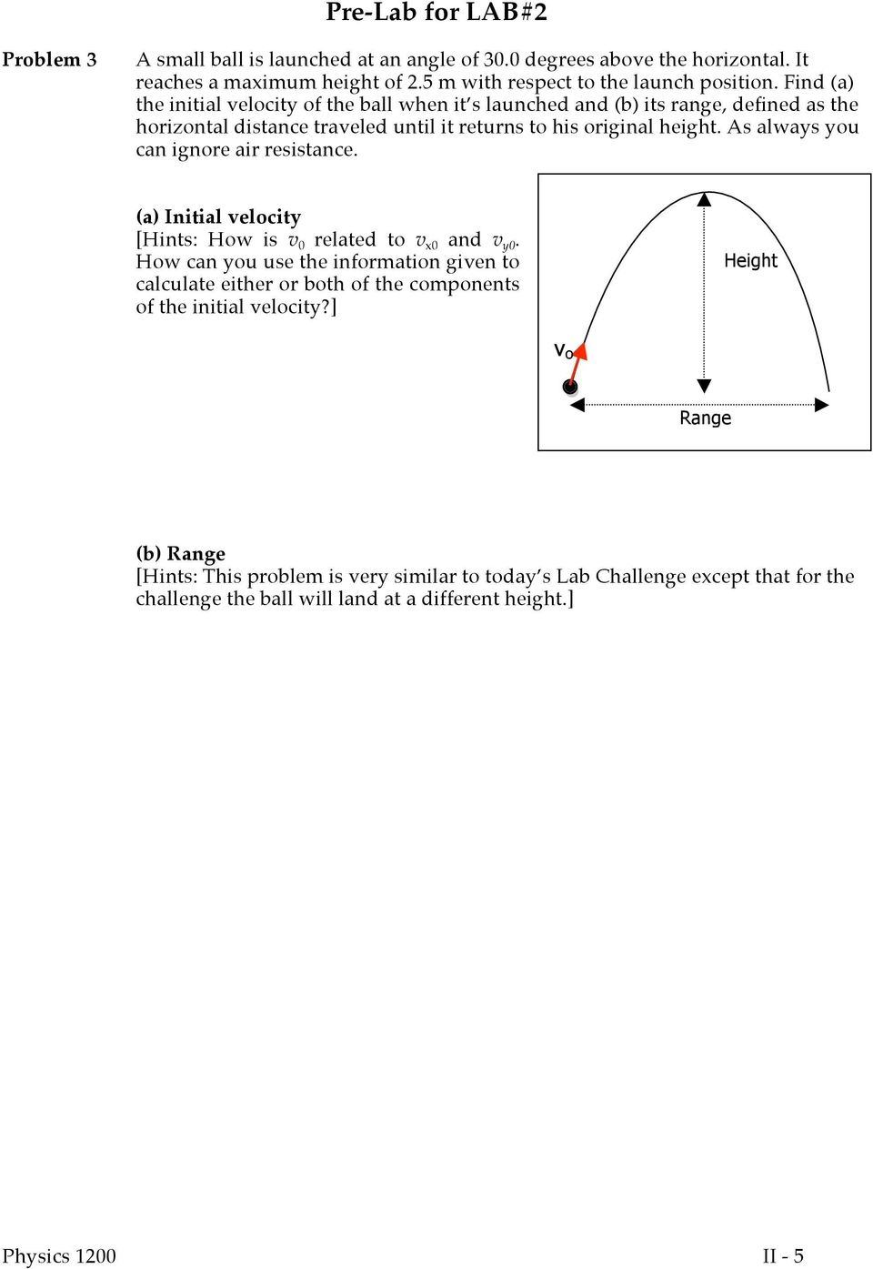 Experiment 2 Free Fall And Projectile Motion Pdf Free Download Meaning of slope from equations unfortunately physicists do not use the same variables as mathematicians! free fall and projectile motion
