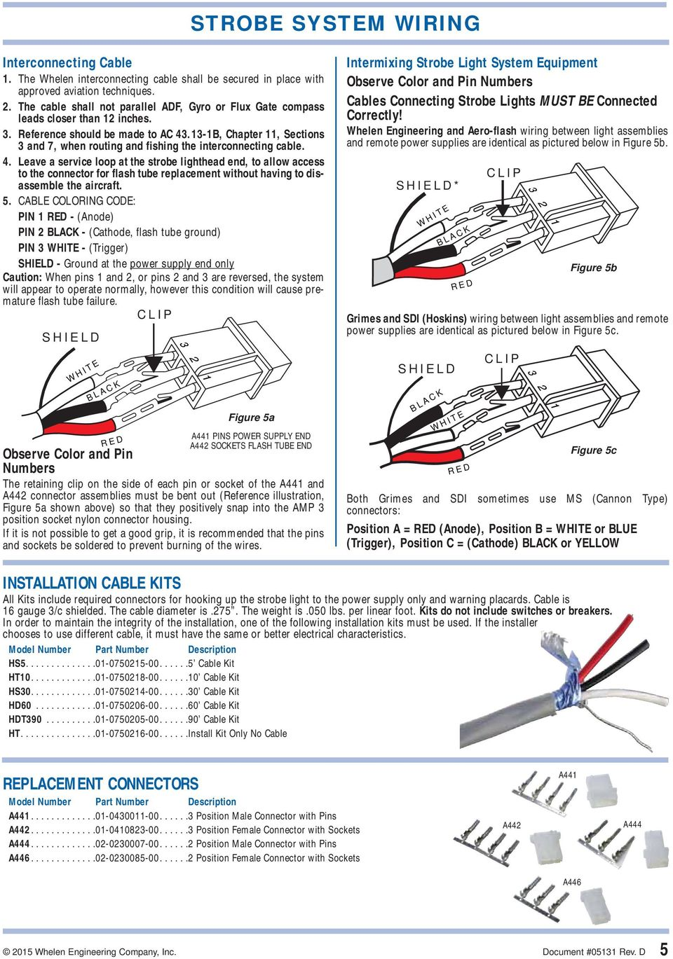 ANTI-COLLISION LIGHT SYSTEMS INSTALLATION AND SERVICE MANUAL ... on