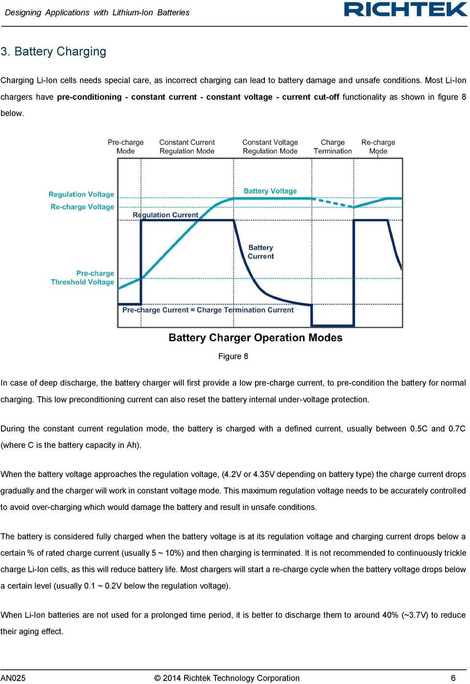 Designing Applications With Lithium Ion Batteries Pdf Circuits For The Battery Charger Of Fig 1 Alkaline Figure 8 In Case Deep Discharge Will First Provide A Low