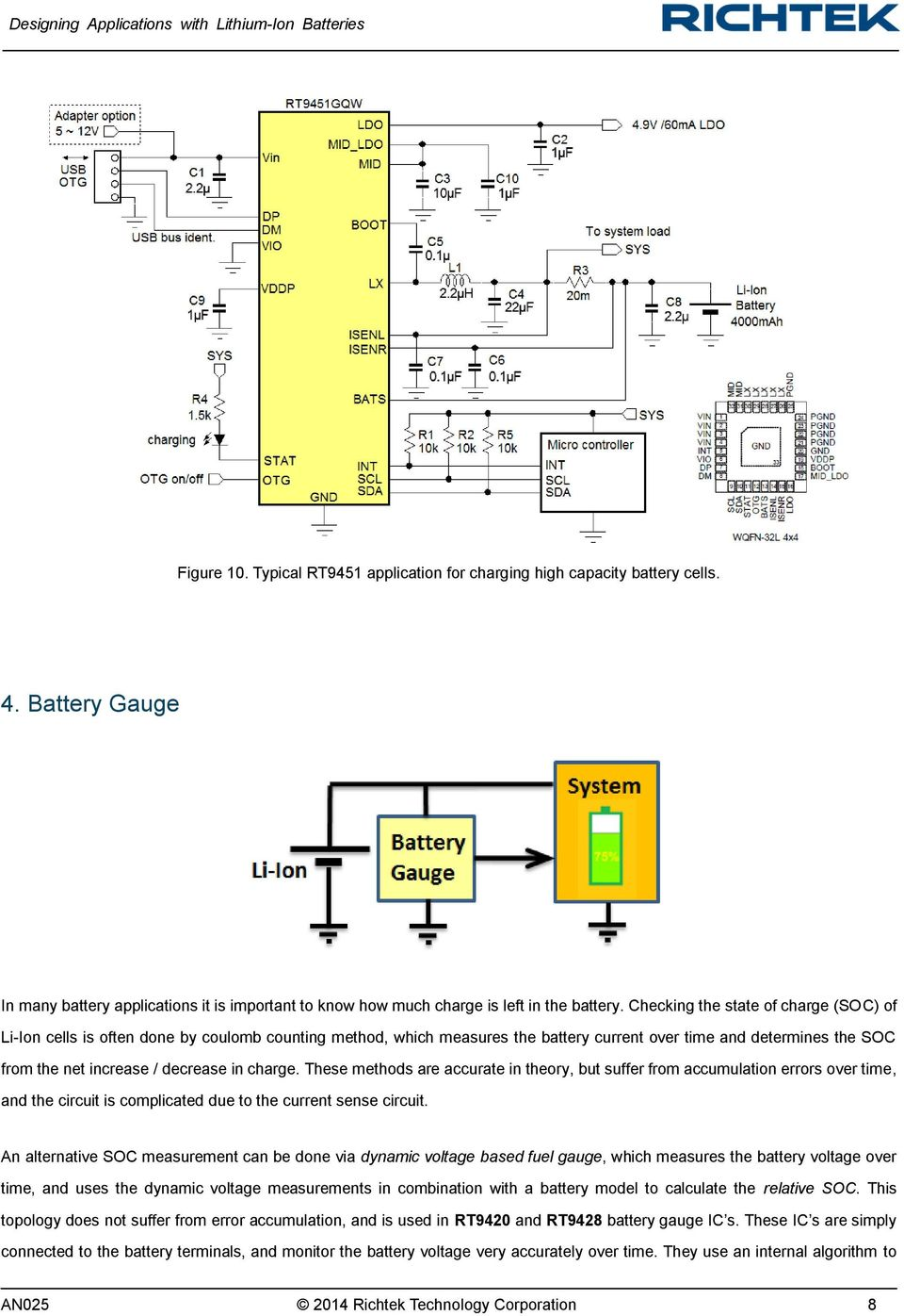 Designing Applications With Lithium Ion Batteries Pdf Circuits For The Battery Charger Of Fig 1 Alkaline Charge These Methods Are Accurate In Theory But Suffer From Accumulation Errors Over Time