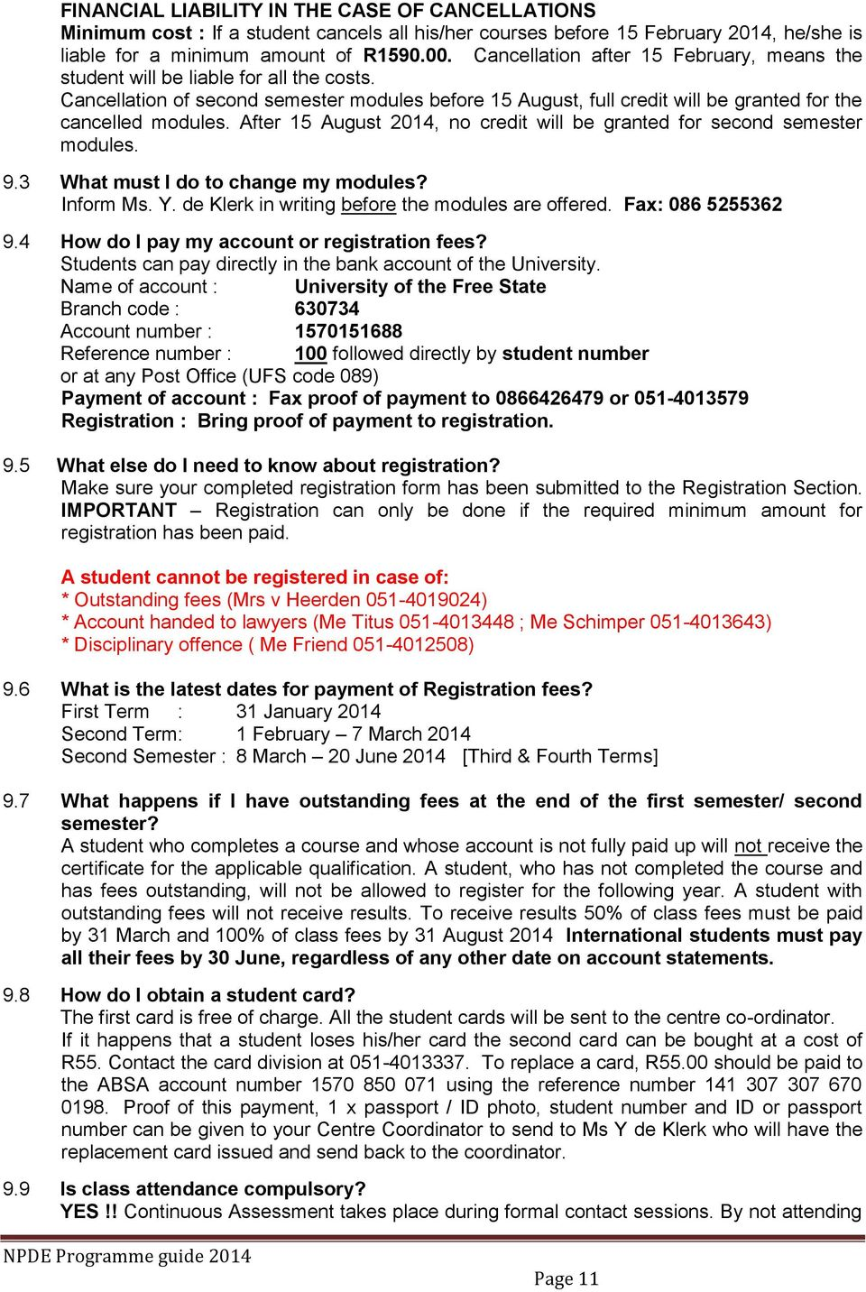 tut application forms july 2014secondsemester