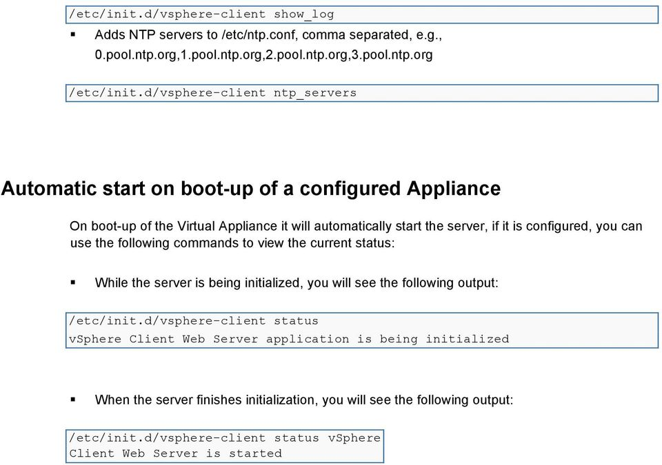 Step 1 (VCSA): Instructions to setup your instance of