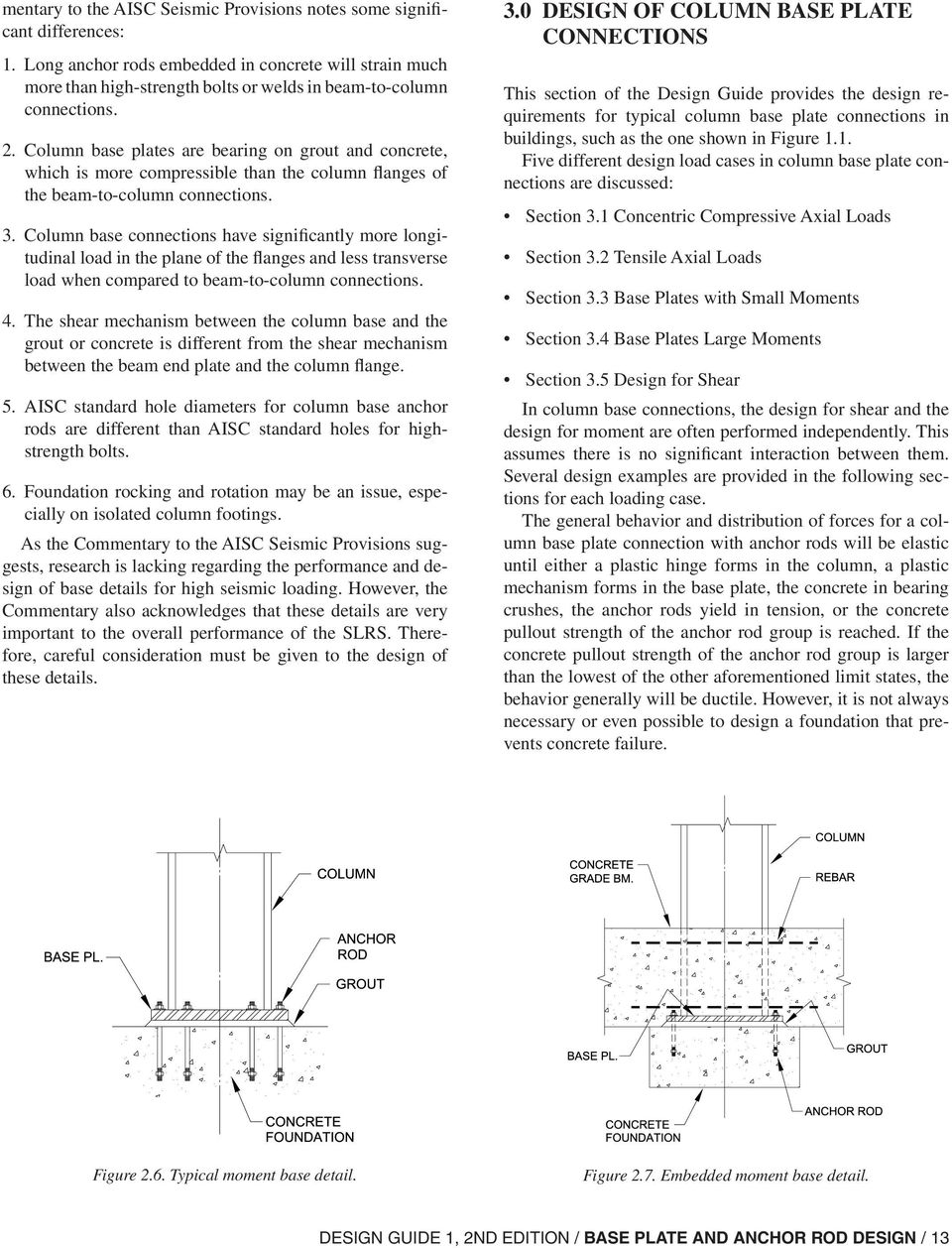Base Plate and Anchor Rod Design - PDF