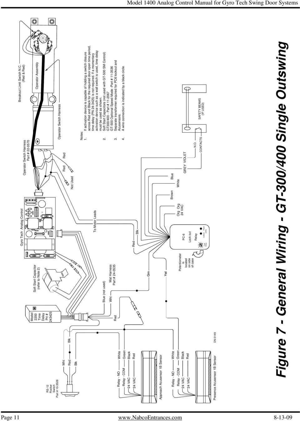 analog control wiring  u0026 adjustment manual for gyro tech
