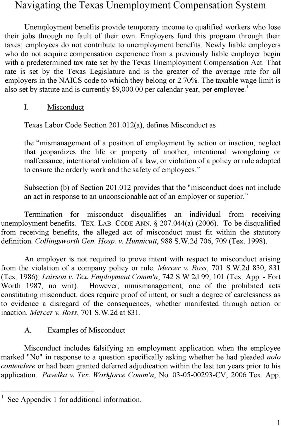 Unemployment Appeal Letter For Misconduct from docplayer.net